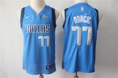 newest collection 0217d 9adfa Youth Dallas Mavericks 77 Luka Doncic Jersey Basketball ...