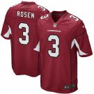 Mens Cardinals #3 Josh Rosen Game Football Jersey Red