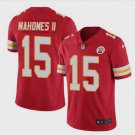 Men's Kansas City Chiefs 15# Patrick Mahomes II Limited Jersey Red