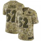 Any Size Baltimore Ravens #52 Ray Lewis Salute To Service Jersey Camo