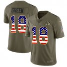 Any Size Cincinnati Bengals A.J. Green Salute To Service USA Flag Jersey