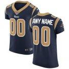 Mens Los Angeles Rams Custom Made Elite Football Jersey Navy