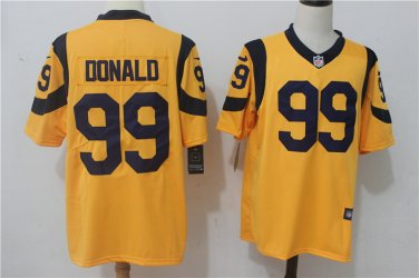 newest 0859a 74a8c Any Size Los Angeles Rams #99 Aaron Donald Color Rush Jersey ...