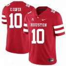 Any Size Houston Cougars #10 Ed Oliver Limited Football College Jersey Red