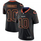 Mens Chicago Bears 10# Mitchell Trubisky Lights Out Black Shadow Jersey