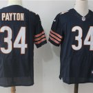 Mens Chicago Bears #34 Walter Payton Elite Football Jersey Navy