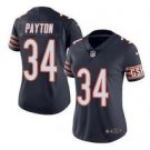 Womens Chicago Bears #34 Walter Payton Limited Football Jersey Navy