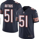 Any Size Chicago Bears #51 Dick Butkus Limited Football Jersey Navy