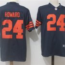 Any Size Chicago Bears 24# Jordan Howard Limited Color Rush Jersey Navy