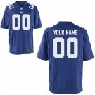Any Size New York Giants Custom Made Game Football Jersey Royal