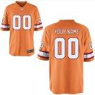Men's Tampa Bay Buccaneers Custom Name & number Game Jersey Orange