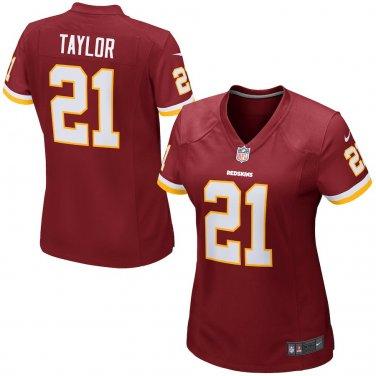 online retailer a41b3 35557 Womens Washington Redskins 21# Sean Taylor Game Jersey Burgundy
