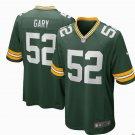 Any Size Green Bay Packers #52 Rashan Gary Game Football Jersey Green