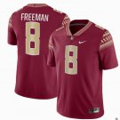 Any Size Florida State Seminoles #8 Devonta Freeman Football Jersey Red Garnet