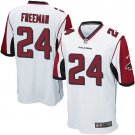 Any Size Atlanta Falcons #24 Devonta Freeman Game Football Jersey White