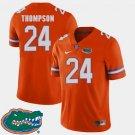 Any Size Florida Gators #24 Mark Thompson Football College Jersey Orange