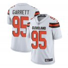 Any Size Cleveland Browns 95# Myles Garrett Limited Jersey White