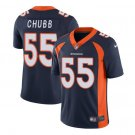 Any Size Denver Broncos 55 Bradley Chubb Limited Football Jersey Navy