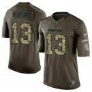 Any Size Miami Dolphins 13# Dan Marino Salute To Service Jersey Camo