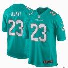 Any Size Miami Dolphins 23# Jay Ajayi Game Football Jersey Aqua