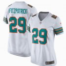 Womens Miami Dolphins 29 Minkah Fitzpatrick Game Throwback Jersey White
