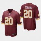 Any Size Redskins #20 Landon Collins Game Football Jersey Burgundy