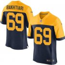 Any Size Green Bay Packers #69 David Bakhtiari Alternate Football Jersey Blue