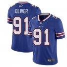 Mens Buffalo Bills #91 Ed Oliver Limited Football Jersey Royal Blue