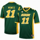 Any Size Carson Wentz Jersey NDSU North Dakota State Bison Green Jersey