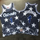 Men's Magic #1 Penny Hardaway Jersey Blue Fine Embroidery camouflage