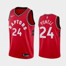 Men's Toronto Raptors #24 Norman Powell Basketball Jersey Red 2019
