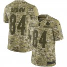 Any Size Pittsburgh Steelers Antonio Brown Salute To Service Jersey Camo