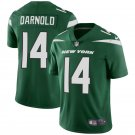 Youth New York Jets #14 Sam Darnold Limited Football Jersey Green New