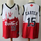 Men's Toronto Raptors #15 Vince Carter Basketball Jersey Red City Edition 2019