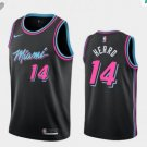 Youth Miami Heat #14 Tyler Herro Black Stitched Jersey City Edition 2019