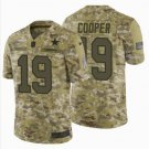 Men's Dallas Cowboys #19 Amari Cooper Camo Salute to Service Jerseys
