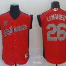 Men's #26 DJ LeMahieu 2019 MLB All-Star Game Player Jersey Red