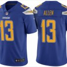 Mens Chargers 13# Keenan Allen Limited Color Rush Jersey Royal Blue