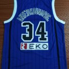 Men's World Cup Greece #34 Giannis Antetokounmpo Jersey Blue