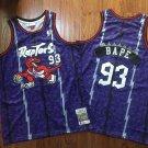 Men's BAPE Joint Raptors #93 Purple Basketball Jersey Fine Embroidery