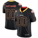 Men's 49ers Custom Made Limited Lights Out Black Shadow Jersey