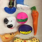 Squeaky Dog Toys 12pk Mixed Nice Quality