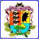 RARE 1 left - Sticker (L) - Emblem - Totoro & Nekobus Catbus - Ghibli Museum