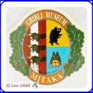 RARE 1 left - Sticker (S) - Made in Japan - Coat of Arms - Totoro - Ghibli Museum Emblem