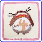 RARE 1 left - Coaster - Chenille Weaving - 4 April - Totoro - Ghibli Museum - card & bag