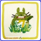 RARE 1 left - Coaster - Chenille Weaving - 7 July - Totoro - Ghibli Museum - card & bag