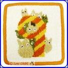 RARE 1 left - Coaster - Chenille Weaving - 9 September - Totoro - Ghibli Museum - card & bag