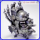 RARE 1 left - Metal Figure Accessory Case - Made Japan Howl's Moving Castle Ghibli Museum (gift wrap