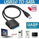 USB 3.0 to SATA 2.5Inch 3.5Inch Hard Disk Drive SSD Adapter Cable Wire Cord For  PC Portable Cable