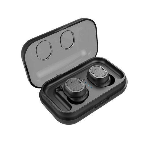 Touch Mini True Wireless Bluetooth 5.0 Earbuds Twins Headset Earphone Headphone Black